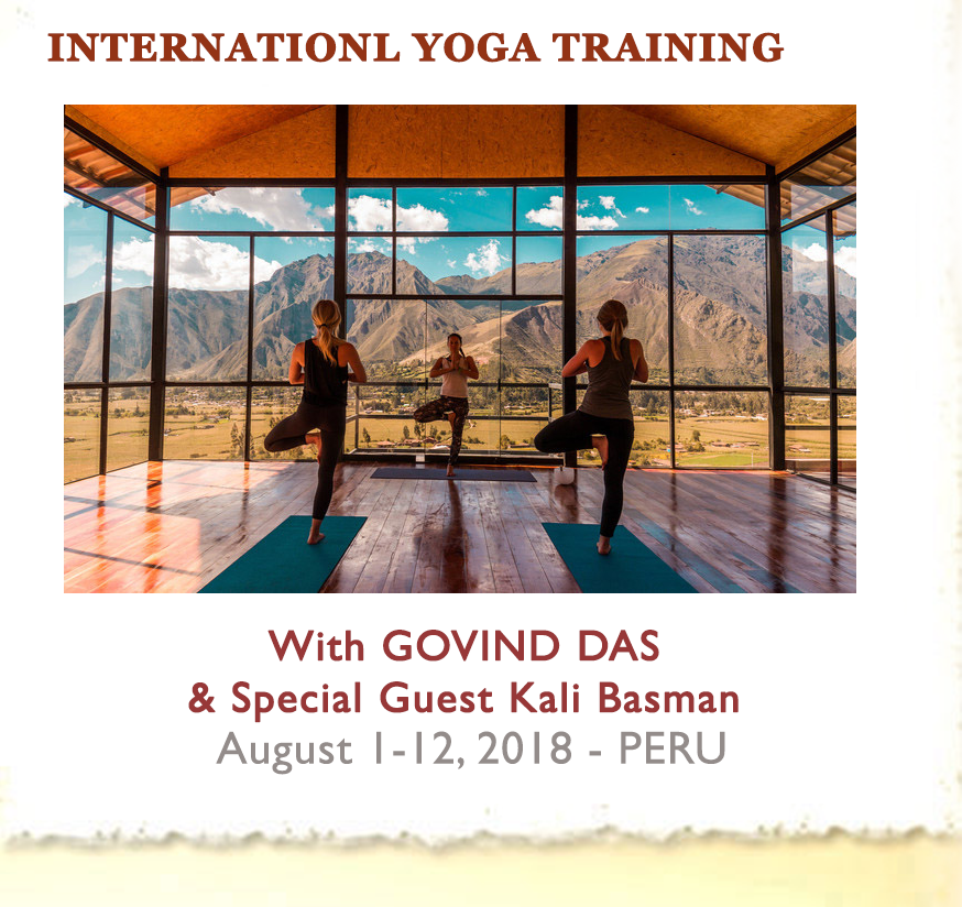 Teacher Training Peru - with Govind Das